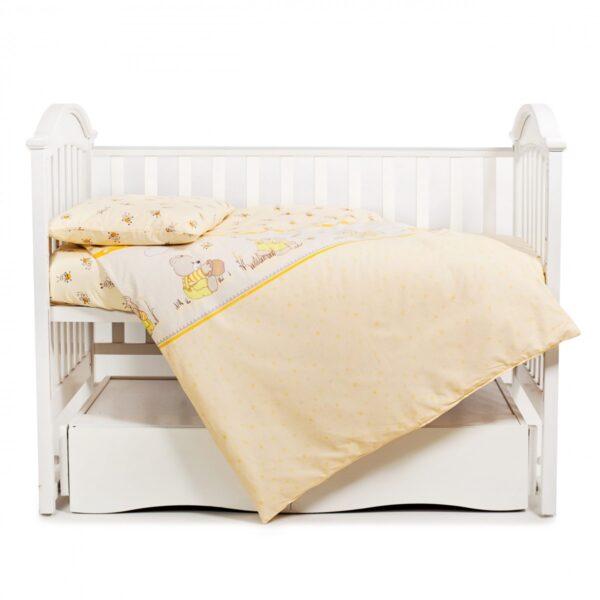 сменная постель-3эл-Twins-Comfort-медун-желтый