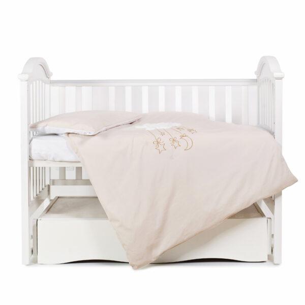 сменная постель-TМ Babycentre _ Twins Moonlight- beige 1
